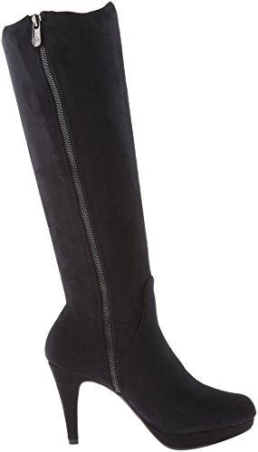 Adrienne Vittadini Chaussures Première Femme Slouch Boot Noir