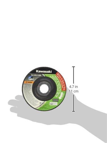 Kawasaki 841350 4-1//2 x 1//8 Grinding Wheel-Metal Kawasaki Tools