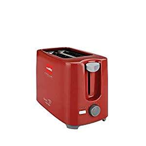 Cello Quick 2Slice Pop Up 300 Toaster (Red)