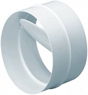 Válvula antirretorno WinFlex PVC para Tubos de Ventilación (125mm): Amazon.es: Jardín
