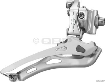 Campagnolo Veloce 9-speed/10-speed Front Derailleur Braze-on - Silver -  CMFD0104990