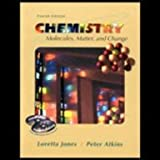 Chemistry : Molecules Matter and Change Student Companion, Jones Staff and Atkins, P. W., 0716736314