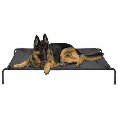 Go Pet Club PC-50 Elevated Cooling Pet Cot Bed, 55 x 32 x 8'