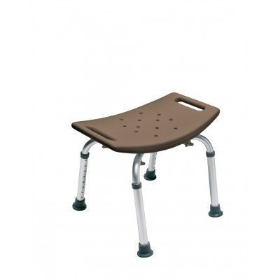 Lumex 7931RC-1 Platinum Collection Bath Seat Without Backrest, Chocolate, Retail Packaging