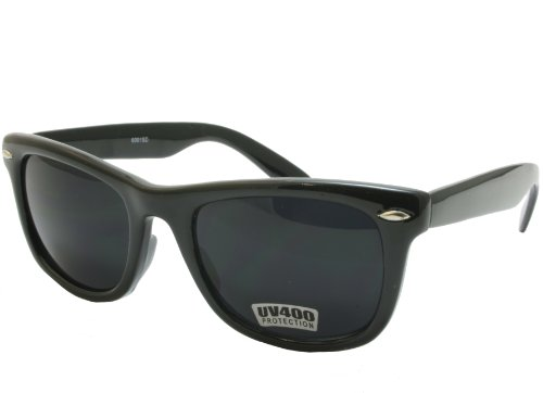 G&G Black Classic 80's Blues Bro Sunglasses Super Dark