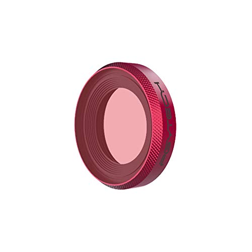 Shan-S Snorkel/Diving Filter Camera Lens Filter for DJI OSMO Action Camera,Optical Glass + Aluminum Waterproof, Oil-Proof Coating,Tempered Scratch Resistant (Canon 3 X Lens)