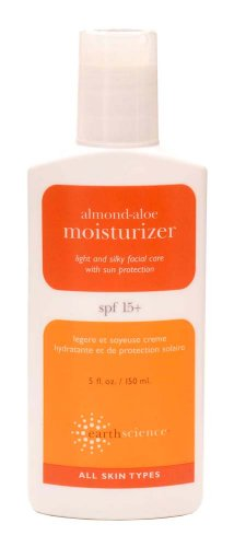Earth Science Almond Aloe Moisturizer SPF 15, 5-Ounce Bottles (Pack of 3) For Sale
