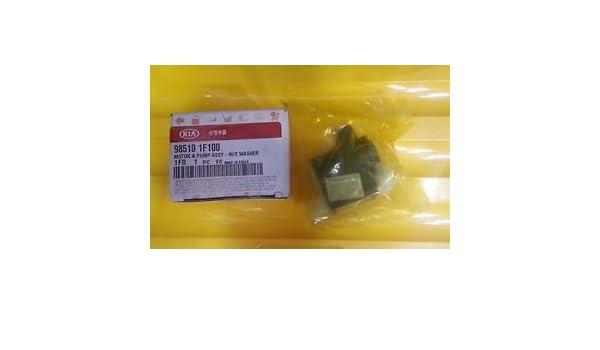 Recambio original de KIA. Motor Deposito (Limpiaparabrisas). Nº Referencia original: 985101F100: Amazon.es: Coche y moto