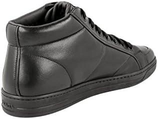 Prada Herren Leder High-Top Sneaker 4T2914