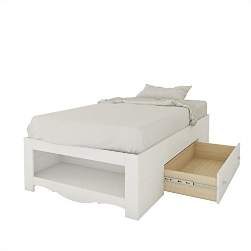 Twin Reversible Bed in White