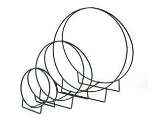 Minuteman International Wrought Iron Wood Hoop, 48-Inch H by Minuteman International