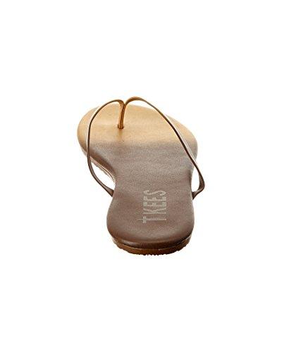 TKEES Powders Flip Flop, 9, Brown