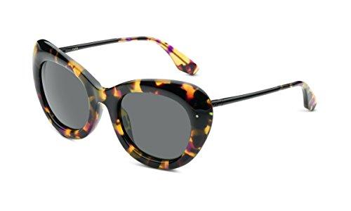 Faye Polished Vintage Tortise and Polished Black Frames With Grey - Dior Kim Sunglasses Kardashian