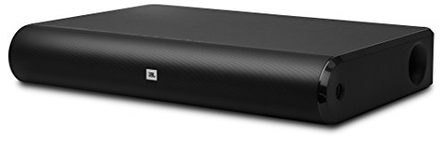 JBL Home Cinema Base Wireless Heimkino 2.2 (Bluetooth/HDMI/USB/Optisch/Analog Anschluss, Duale Subwoofer, Kompatibel mit TVs/Smartphones/Tablets/Laptops) schwarz