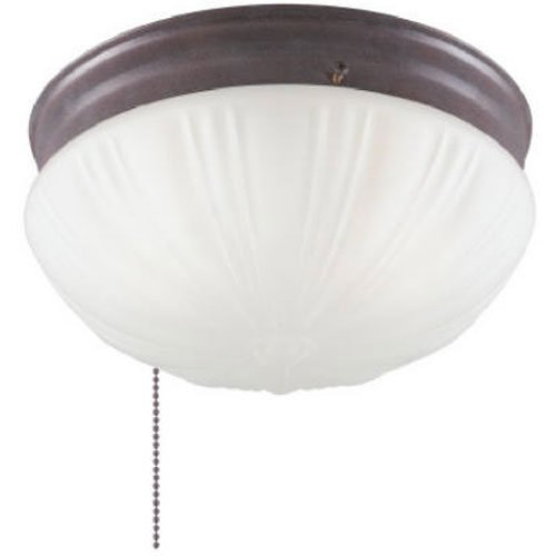(WESTINGHOUSE Lighting Corp 6720200 WESTINGHOUSE 67202 2-Light Sienna Ceiling Fixture)