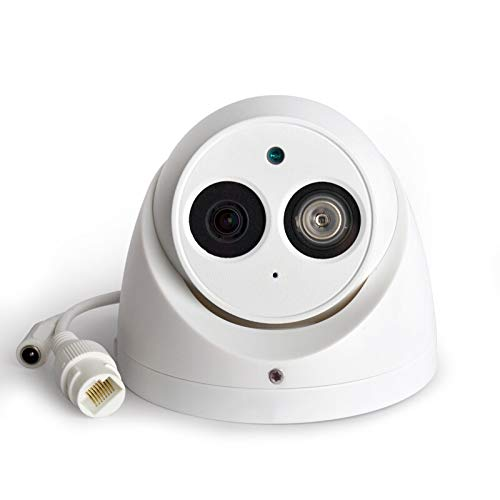 6MP Outdoor PoE IP Camera IPC-HDW4631C-A 2.8mm, Dome Security Camera with Audio, Built-in Mic, IR 50m Night Vision, Smart H.265 WDR, ONVIF, IP67