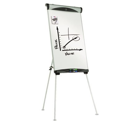 Euro Magnetic Dry Erase Easel, 27 x 39, White by Quartet