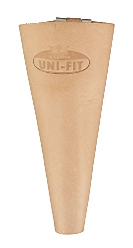 Metallo MET-959140 Holster Shear with Clip - Leather Brow...