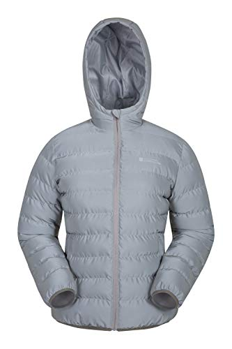Mountain Warehouse Seasons Reflective Womens Jacket - Winter Coat Silver 10 ()