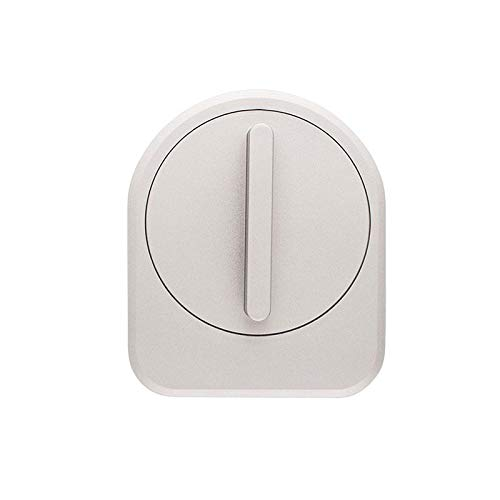 CANDY HOUSE Sesame Smart Lock with Google Home Amazon Alexa, IFTTT Enabled Gen 2 Champagne Silver