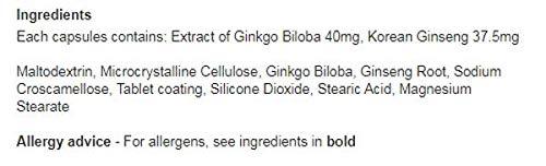 Red Kooga Ginkgo Biloba & Ginseng (32) - 4 Pack