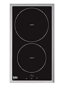 Beko HDMI 32400 DTX Placa de inducción modular, 1400 W, Negro
