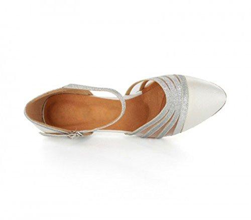 MGM 6cm White Joymod Donna EU Style2 e 35 Heel Moderno Bianco Jazz H4qwHAUr