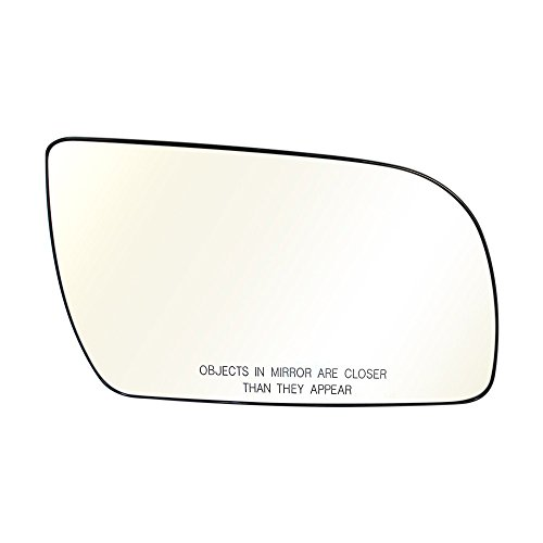 (Titanium Plus Autoparts, 1988-2005 Fits For GMC Safari Front,Right Passenger Side DOOR MIRROR PLATE WITHOUT HEATED,MANUAL& POWER,WITH GLASS)