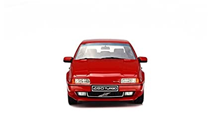 Otto 1/18 Scale resin OT228 Volvo 480 Turbo Red Model Car: Amazon.es: Juguetes y juegos