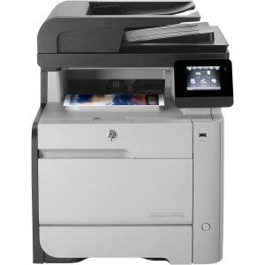 HP LaserJet Pro M476DN Laser Multifunction Printer - Color - Plain Paper Print - Desktop - Copier/Fax/Printer/Scanner - 600 x 600 dpi Print - 21 cpm Mono/21 cpm Color Copy - Touchscreen - 1200 dpi Optical Scan - Automatic Duplex Print - 300 sheets Input -