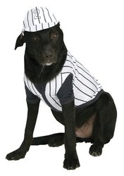 Dog Baseball Player Costume (PET COSTUME BASEBALL PLAYER LG)