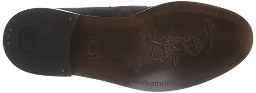 Base London Balfour - Mocasines de cuero hombre marrón - Marron (Greasy Suede Brown)