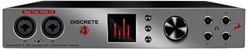 Antelope Audio Discrete 4 Microphone Preamp Thunderbolt/USB Interface - Basic FX Pack