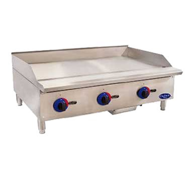 Globe C36GG Chefmate Countertop Griddle natural gas 36''W x 20-1/2''D cooking a by Globe Food Equipment
