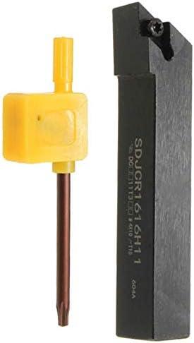 Qualitäts-CNC-Drehmaschine Werkzeug-Zubehör SDJCR1616H11 Rechte Hand Lathe Externe Drehwerkzeughalter for DCMT11T304 16 x100mm