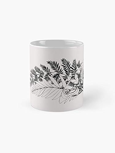 The Last Of Us Part 2 Ellie Tattoo Mug - 11oz Mug - Made from Ceramic - Best gift for family friends (Ellie From The Last Of Us Drawing)