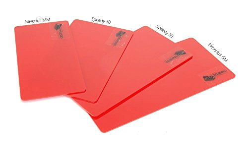 Acrylic Base Shaper with Half Transparent Red Color for Designer Handbags ( Express Shipping )