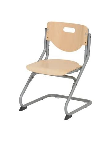 Kettler 06725-017 Chair Plus - Silla de Haya y Metal, Color Plateado
