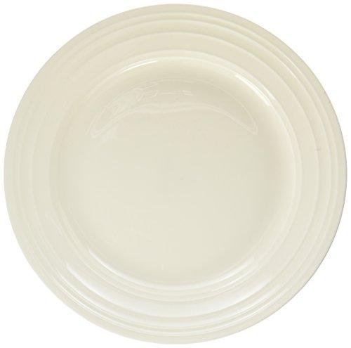 Mikasa Swirl Bone Appetizer Plate - White