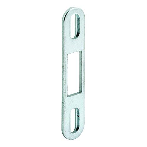 Prime-Line MP2097 Sliding Door Keeper, Zinc Plated Steel, Pack of 1