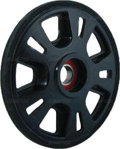 Kimpex Idler Wheel - 7.25in. (180mm x 20mm) - Black 04-2180-20