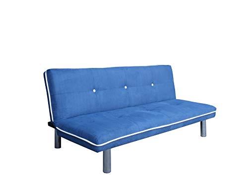 Mueblix Sofá Cama Royo (Azul)
