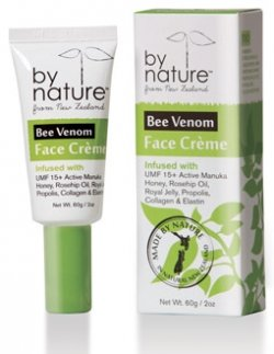 By Nature From New Zealand Bee Venom Face Cr me 2 Oz.