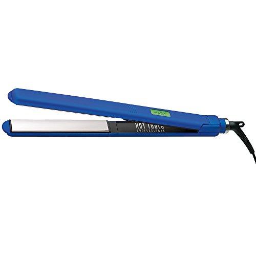 Hot Tools: Professional Radiant Blue Titanium 1'' XL Digital Salon Flat Iron by Hot Tools