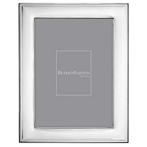 (Beautiful NAPLES beveled border silver 5x7 frame by Reed & Barton - 5x7)