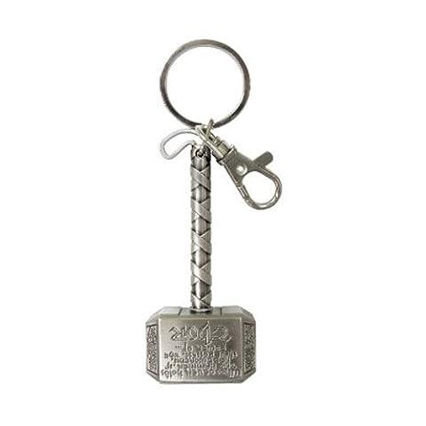 Marvel Thor Hammer Pewter Key Ring