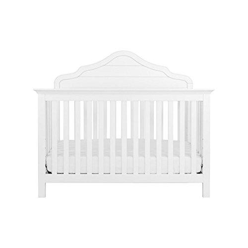 DaVinci Flora 4-in-1 Convertible Crib in White Finish - Flora White Finish