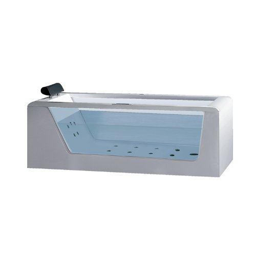 Best Prices! ARIEL Platinum AM152JDTSZ-59 Whirlpool Bathtub - 59.06 x 32.28 x 33.46