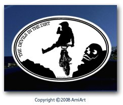 Motorcycle Decal-motocross FREESTYLE car decal stunts dirt-bike bumper window  sticker for trucks