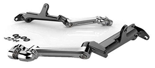 Ciro 60100 Floorboard Highway Peg Mount (Chrome s For 2009-2016 Flh Touring Models) ()
